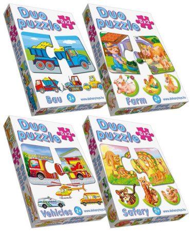 Duo puzzle játék - 06608