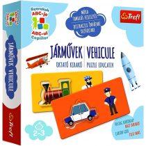Trefl EDU link - Europa Trip oktató játék - 07811