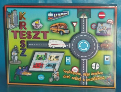 Kresz - teszt társasjáték - 09106
