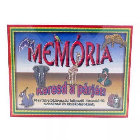 Memória játék állatos - 09111