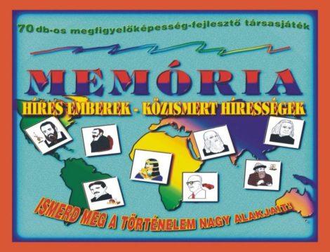 Memória társasjáték, híres emberek - 09120