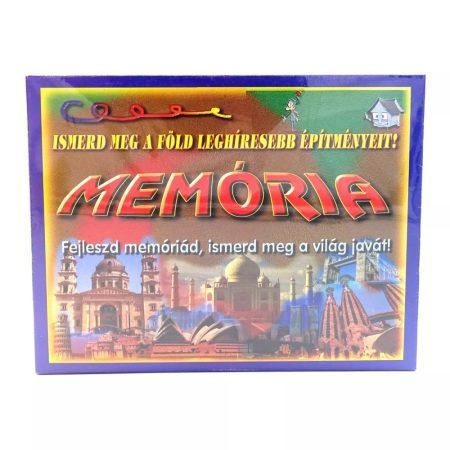 Memória társasjáték, híres építmények - 09123