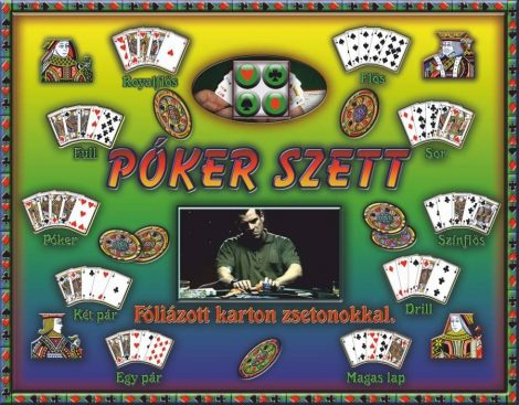 Póker szett társasjáték - 09139