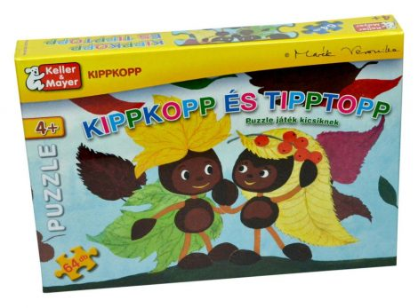 Kippkopp és Tipptopp 64 db-os puzzle játék - 09622