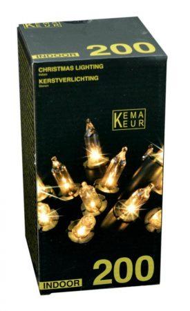 Karácsonyi fényfüzér, 200 izzós, fehér - 19574