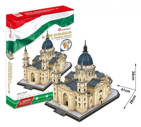 3D puzzle játék Szent István Bazilika - 20822