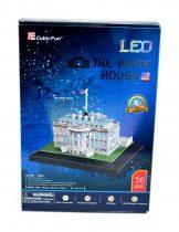 3D-s puzzle, világítós Fehér Ház - 20837