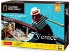 3D puzzle város - Velence - Szent Márk Tér kirakós csomag  - 20840