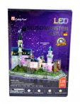 3D-s puzzle Neuschwanstein kastély, világítós - 20845