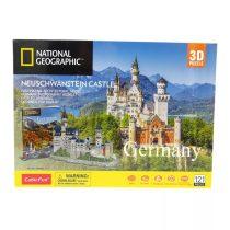 3D puzzle város - Németország - Neuschwanstein kastély kirakós csomag - 20882