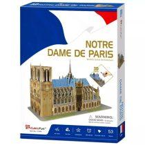 3D puzzle város - Párizs - kicsi Notre Dame kirakós csomag - 20892