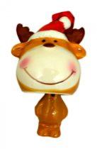 Karácsonyi akasztós figura - 7 cm - 21005