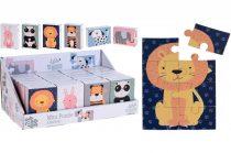 Mini puzzle csomag - 8 darabos - dobozban - 21320
