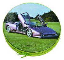 CD tartó, kerek, fém - 31551