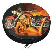 CD tartó, kerek, fém - 31552