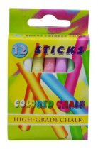 Táblakréta, színes, 12 db - 32061