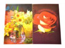 Hűtőmágnes - virágok - 32347