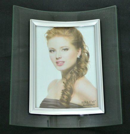 Fotókeret, íves, álló, 9 x 13 cm - 32689