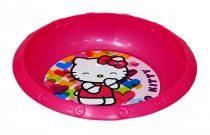 Hello Kitty - műanyag mélytányér - szíves - 40392
