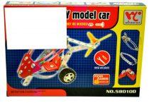 Fémépítő helikopter dobozban - 46446
