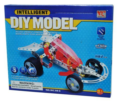 Fémépítő játék - homokfutó autó 46502