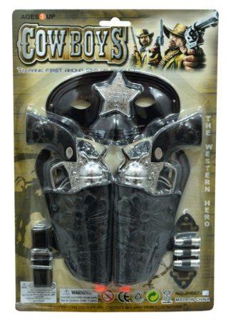 Cowboy szett lapon - 46921