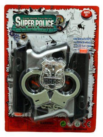 Police szett lapon - 47040