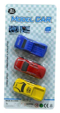 Autó 3 db lapon - 47324