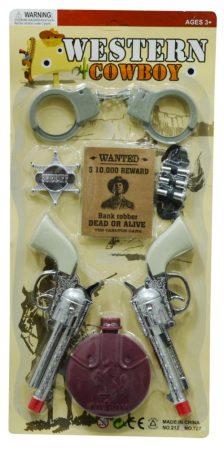 Cowboy szett lapon - 47359