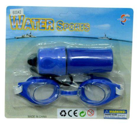 Úszószemüveg+vízi pénztárca - 47607