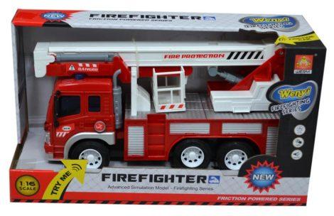 Tűzoltóautó elemes - 47648