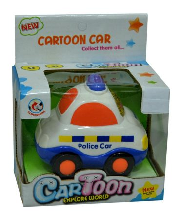 Autó - Police felhúzható - 47706