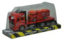 Kamion - tűzoltószállító platformon - 47880