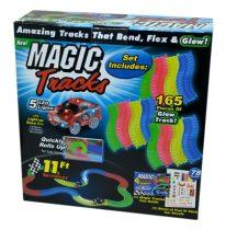 Magic Tracks autópálya világító kisautóval - 47916