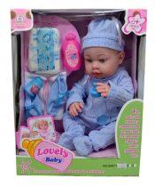 Baba + kiegészítő, dobozban - 48058