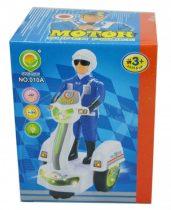 Motoros rendőr, elemes - 48179