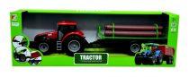 Traktor utánfutóval dobozban  - 48487