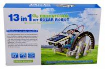 Napelemes oktató, építő játék, 13 az 1-ben robotok - 48694