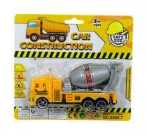 Betonkeverő és szállító kamion lapon - 48716