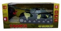 Tank - RC - 4 funkciós - dobozban - 48745