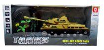 Tank - RC - 4 funkciós - dobozban - 48746