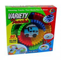Variety Tracks autópálya építő kisautóval - 48760