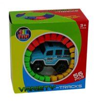 Variety Tracks autópálya építő kisautóval - 48761