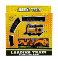 Vonatpálya - elemes - dobozban - 48763