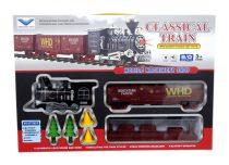 Vonatpálya - elemes - dobozban - 15 darabos - 48767