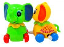 Elefánt játék - felhúzós - 48818