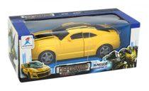 Robot - autó - átalakulós - elemes - dobozban - 48851