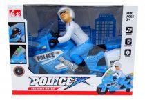 Motor - rendőr - elemes - dobozban - 48907