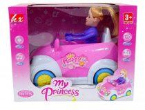 Autó babával - elemes - dobozban - 48909
