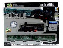 Vonatpálya - elemes - dobozban - 13 darabos - 48920